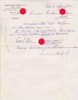 BALE BASEL 1914 SIMONIUS & STROHL - Suisse