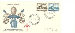 Italia FDC 25 Jahre Lateranverträge Michelnrs 906-907, Trieste 11-2-1954 - 1946-.. Republiek