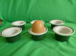 Vintage Retro RORSTRAND VDN P555 SWEDEN Set Of 6pcs Egg Cup Home Decor - Roerstrand (SWE)