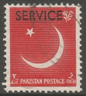 Pakistan. 1959 Ninth Anniv Of Independence. Official. 2a Used SG O65 - Pakistan