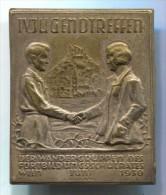 YOUTH MEET IV. 1930. Wien, Austria, old pin, big badge