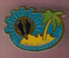 35434-Pin's.la valette.association pieds noirs.