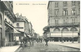 PERIGUEUX ( Dordogne ) -  RUE DE BORDEAUX -  Café De France -  Café De La Bourse -  Horlogerie - Périgueux