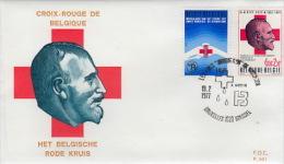 FDC:Het Belgische Rode Kruis - FDC
