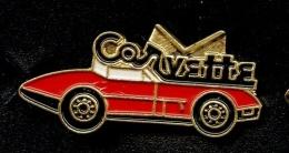 """ CORVETTE ""   Jaune  Métal    No Pg5 - Corvette"