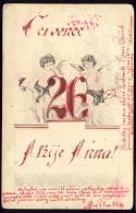 AK    ANGELS   ANGEL   ENGEL  1906 - Anges