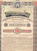ACTIE    AKTIE    SHAREHOLDINGS  ZAGREB    200 KRUNA   1910.  LITHO - Shareholdings