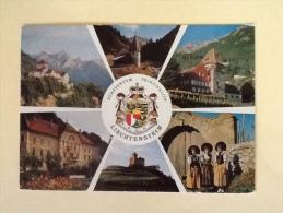 LIECHTENSTEIN VIAGGIATA M - Liechtenstein