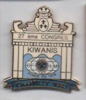 Beau pin�s en EGF , association Kiwanis , Chantilly
