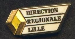 """* A.B.* """" DIRECTION RÉGIONALE RENAULT LILLE """"  ARTHUS BERTRAND  Métal      No Pg5 - Renault"""