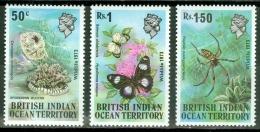 British Indian Ocean Territory 1973 Animals MNH** - Lot. 2772 - British Indian Ocean Territory (BIOT)