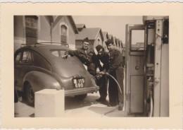 Afrique Du Nord,ALGERIE,ALGER,1956,p Hoto Ancienne ,france Colonie,MAGHREB,avant Indépendance,militaire,po Mpe Essence - Places