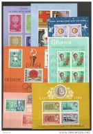 1962 1964 Ghana 7 FOGLIETTI (7/13) MNH** 7 Souv. Sheets - Ghana (1957-...)