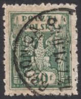 Poland, 50 F. 1919, Sc # 102, Mi # 108, Used - 1919-1939 Republic