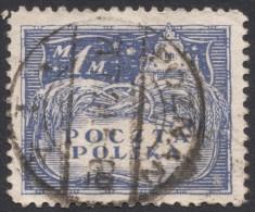 Poland, 1 M. 1919, Sc # 103, Mi # 109, Used - 1919-1939 Republic