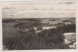 Finlande En 1952,FINLAND,SUOMI,JYVASK YLA,région Des Lacs,amoureux De La Nature,écologie,carte Photo - Finlande