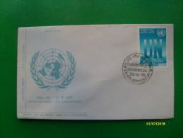 1970  First Day Cover Special Handstamp Busta Primo Giorno  United Nation 25 Th Anniversary - Nuovi