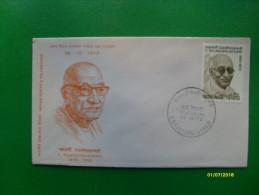 1970  First Day Cover Special Handstamp Busta Primo Giorno C.Rajagopalachari 1878 1972 - Nuovi