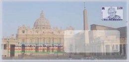 VATICANO 2013 - Benedetto XVI Busta Postale 2,00€ Nuova** - Postwaardestukken