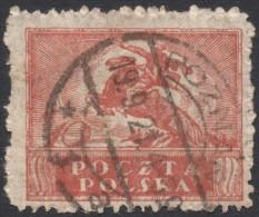 Poland, 10 M. 1919, Sc # 147, Mi # 116, Used