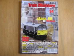 TRAIN MINIATURE N° 34 Chemins De Fer Rail Revue Modélisme Maquettisme SNCB NMBS Auhagen - Model Making