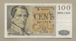 BELGIUM - 100 Francs  1953  P129a  VF  ( Banknotes ) - [ 2] 1831-... : Belgian Kingdom