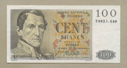 BELGIUM - 100 Francs  1957  P129b  Choice VF-EF  ( Banknotes ) - [ 2] 1831-... : Royaume De Belgique