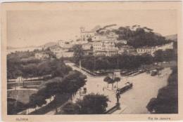 BRASIL,brésil,rio De Janeiro,GLORIA EN 1900,CARTE ANCIENNE,vue Old,tram,tramway - Rio De Janeiro