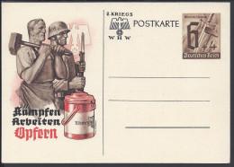 THEMES -  CARTE ENTIER  POSTAL NEUVE DE L´EMPIRE ALLEMAND - - Oorlog 1939-45