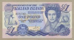 FALKLAND ISLANDS - £1  1984  QEII  P12  Uncirculated  ( Banknotes ) - Falkland