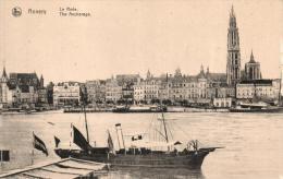 BELGIQUE - ANVERS - ANTWERPEN - La Rade. - Antwerpen