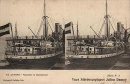 BELGIQUE - ANVERS - ANTWERPEN - Paquebot En Chargement. - Antwerpen