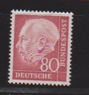 Allemagne   // N 71 D  //  80 Pf  Rouge  // NEUF **  //  Côte 5 € - Neufs