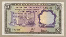 NIGERIA - £1  1968  P12a  VF  ( Banknotes ) - Nigeria