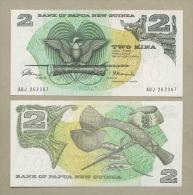 Papua New Guinea - 2 Kina  1975  P1  Uncirculated  !!!!!!!!!!!!!!  ( Banknotes ) - Papua New Guinea