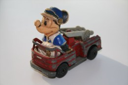 Matchbox Character Toys WD-1-A2 Mikey Mouse Fire Engine, Issued 1979 - Matchbox