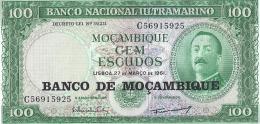 100 Cem Escudos - Perfect Condition - Mozambique