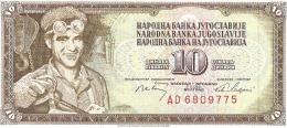 10 DINARA - Perfect Condition - Yougoslavie