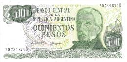 500 QUINIENTOS PESOS - Perfect Condition - Argentine