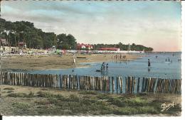 CPSM Andernos-les-Bains - La Plage Du Bétey (plan D´ensemble Animé) - Andernos-les-Bains