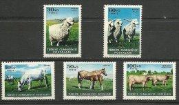 Turkey 1964 Domestic Animals, MNH S.493 - 1921-... Republic