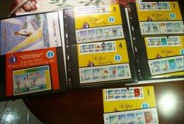 Solomon Islands 1986 America's Cup Winner, 10 Zd+perf. Sheet+original Sales Card, MNH S.505 - Solomon Islands (1978-...)
