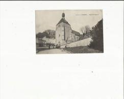 Lormont  33    La Place De L'Eglise Et La Rue Animée - France