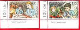 Moldova, Moldau, Moldavie, 2 Stamps (complete Series) / Scouting - Europe, Europa, 2007 - Europa-CEPT