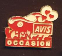 """""""  AVIS OCCASION """" Métal  No Pg6 - Pin"""
