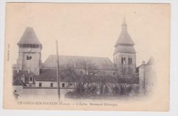 CHAMBON SUR VOUEIZE - L´ EGLISE - MONUMENT HISTORIQUE - Chambon Sur Voueize