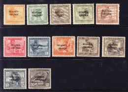 RUANDA - URUNDI  COB  50/61 X MH. (4Z26) - 1924-44: Neufs