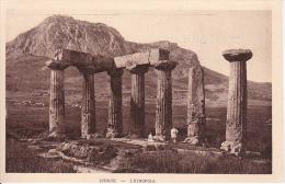 CPA Corinthe - L'Acropole (6537) - Griechenland