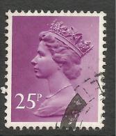 GB 1981 QE2 25p Purple Machin SG X970. ( G614 ) - 1952-.... (Elisabeth II.)