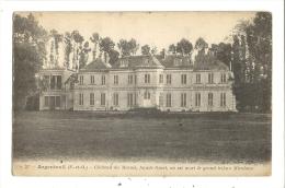 Cp, 95, Argenteuil, Château Du Marais, Façade Ouest - Argenteuil